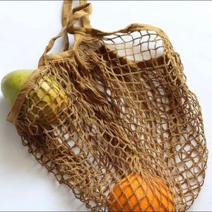Handbags - Eco-friendly Net Bags in assorted colors!
